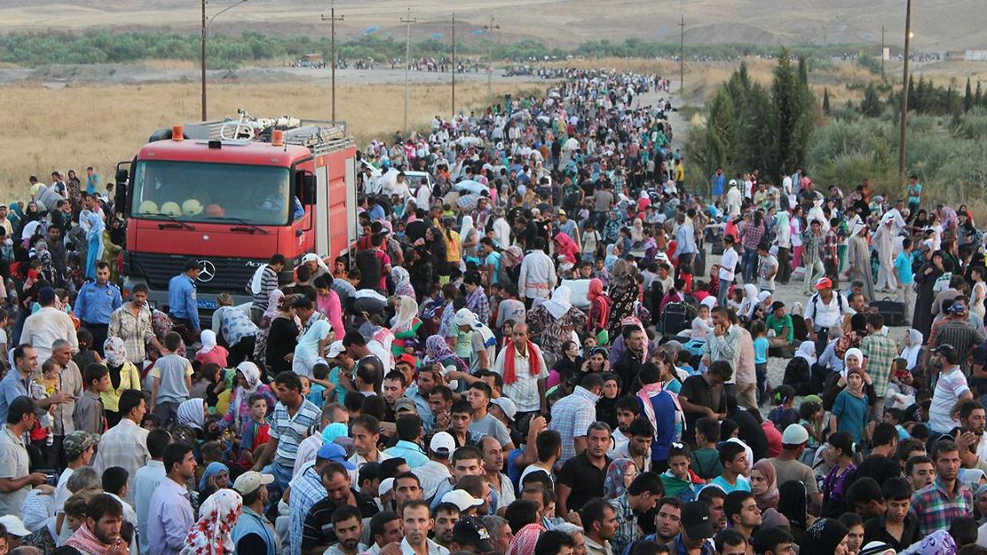 Refugee crisis: two views on this humanitarian catastrophe.