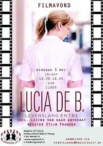 Lucia de B poster met email