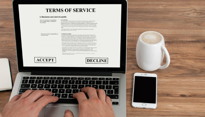 Who said terms of service are boring?