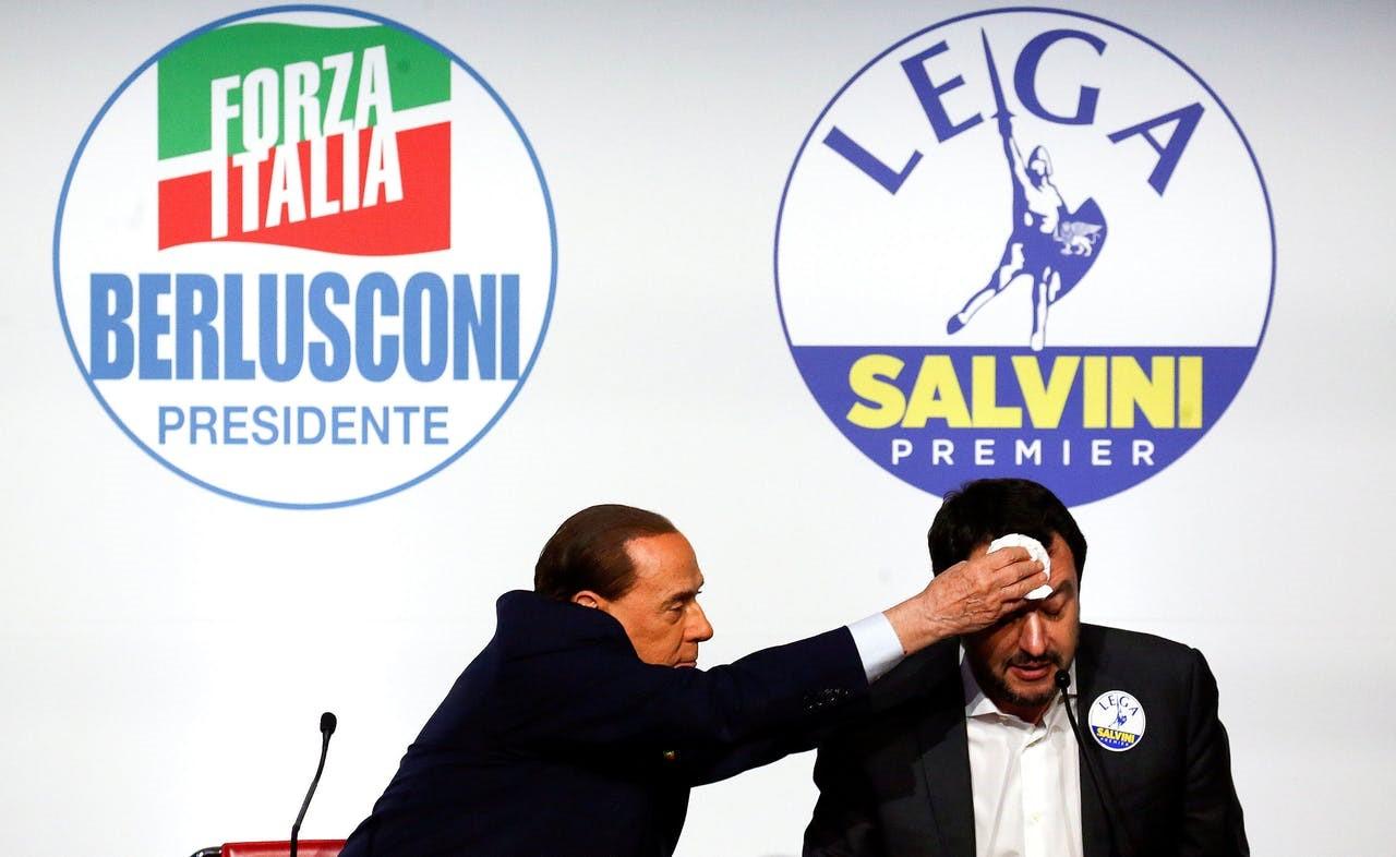 Eurosceptische protestpartijen gaan er met de winst vandoor bij Italiaanse verkiezingen