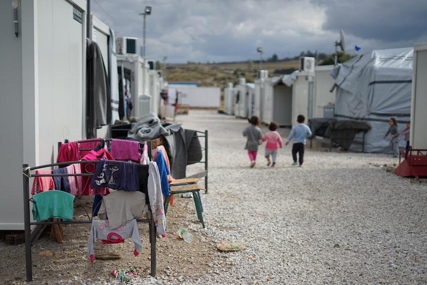 Camp Moria – EU Values burst into Flames